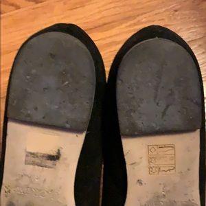 J. Crew Shoes - J. Crew black suede scallop flats